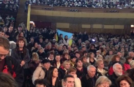 Загальноміські громадські слухання розпочалися у ККЗ «Україна» (фото)