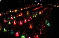В честь жертв Голодомору харків'яни запалювали свічки