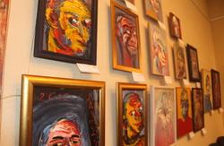 В галереї «Мистецтво Слобожанщини» стартувала виставка автопортретів