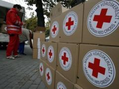 Червоний Хрест направив гуманітарну допомогу на окуповані райони Донбасу