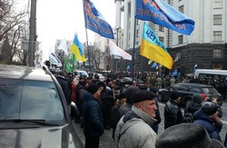 Як представники бізнесу пікетували український парламент