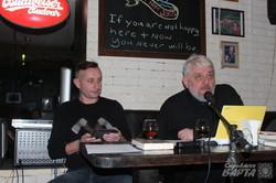 В Харкові пройшли поетичні читання за участі Жадана та Херсонського