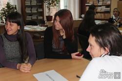 В бібліотеці Короленка відбулося спілкування, що долає стереотипи