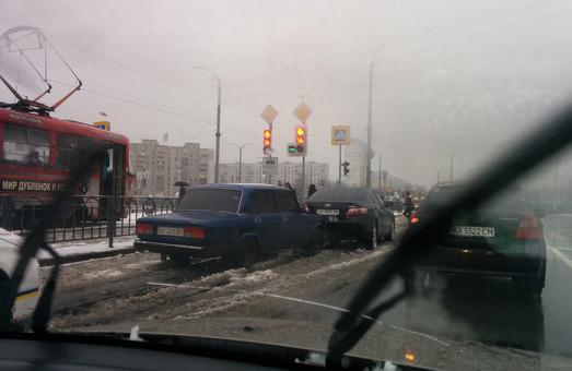 зіткнення двох авто на розі пр. Людвіга Свободи та пр. Перемоги
