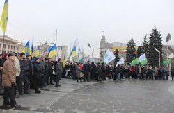 «Збережемо єдиний податок»: в Харкові приватні підприємці вийшли на акцію протесту (фото)