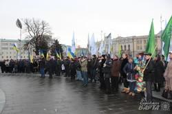 «Збережемо єдиний податок»: харківські підприємці приєдналися до акції протесту (фото)