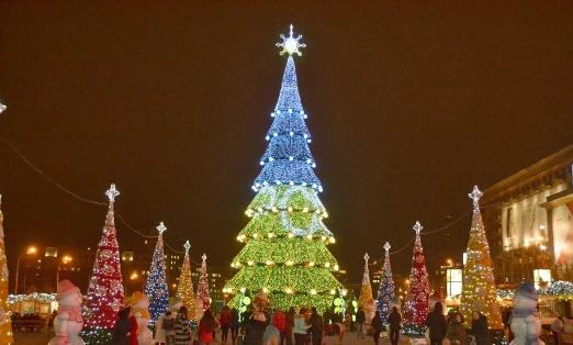 Що вже є на одній з найбільш площ Харкова для святкування новорічних свят?