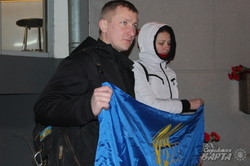 Харківські рухівці вшанували пам'ять В'ячеслава Чорновіла (фото)