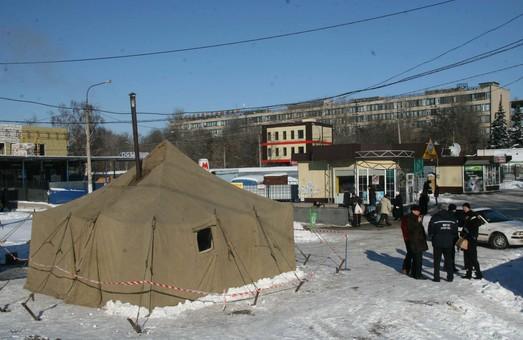 У зв'язку з міцними морозами у Харкові встановили цілодобові пункти обігріву