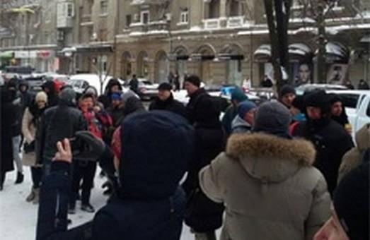 У Харкові акція протесту перетворилася на колотнечу