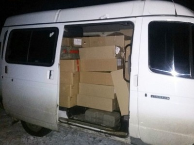 Хотіли збагатитися: з Маріуполя в Донецьк везли 6 тонн продуктів (ФОТО)