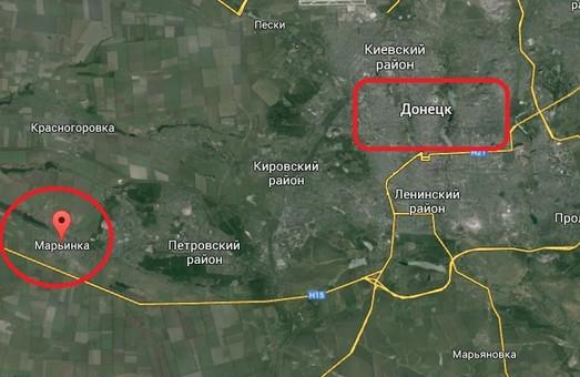У бою під Мар'їнкою поранено троє українських військових