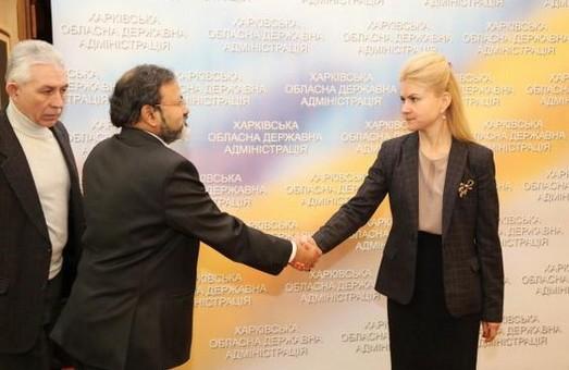 харківська область та індія і надалі будуть співпрацювати у напрямі машинобудування, науки та освіти
