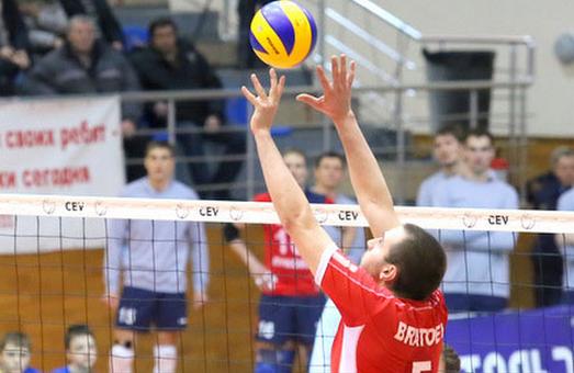У чверть фіналу Єврокубка з волейболу пройшов харківський «Локомотив»