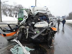 Медик, який загинув 2 лютого на Салтівці під час аварії, мав чималий стаж роботи на «швидкій»