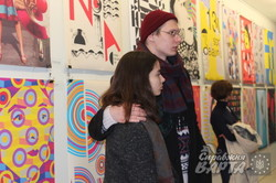 «Соня Делоне 130»: в «Come in art gallery» стартувала виставка плакатів (фото)