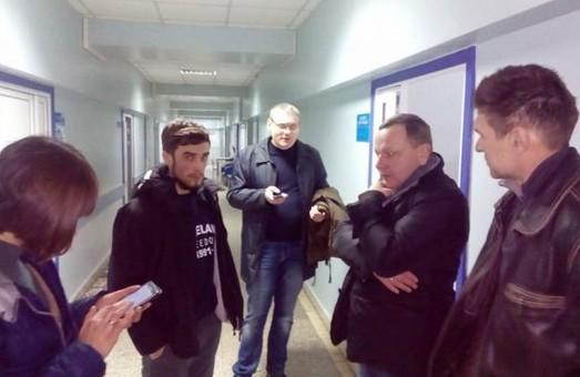 У місті невідомі напали на активіста Дмитра Олейника