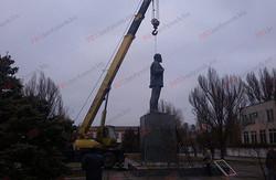 На Одещині були демонтовані два пам'ятники Леніну