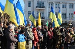 «Герої не вмирають»: як в Харкові вшанували події, що відбулися під час Майдану