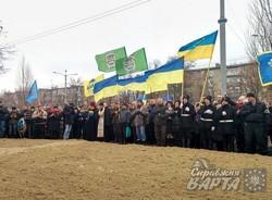 На проспекті Маршала Жукова біля Палацу Спорту відкрили пам'ятник на честь загиблих харків'ян під час теракту 2014 року