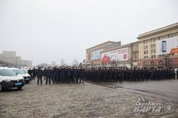 Як у Харкові сьогодні поважних персон зустрічали (ФОТО)