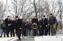 Що відбувалося на місці вбивства Димента в Харкові (фото)