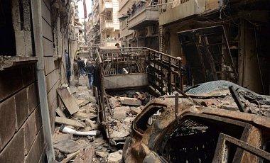 У Сирії невпізнаними літаками були обстріляні шість міст