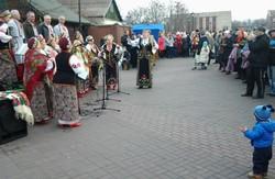 Як на Соборній площі Дніпродзержинська відзначали Сирну Седмицю (фото)