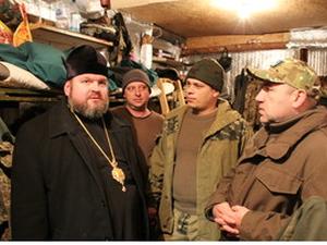 Єпископ Харківський і Богодухівський Митрофан зустрівся з військовослужбовцями 93-ї бригади