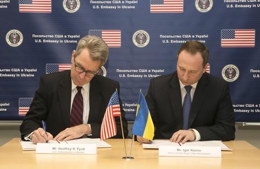 Підписано Меморандум про взаєморозуміння між США та Харківською областю