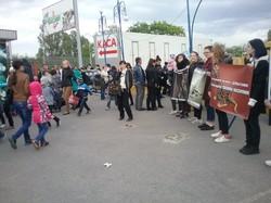 «Ні насиллю над тваринами!». Харківська молодь протестувала проти експлуатації тварин в цирках (фото)