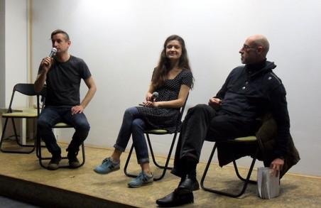 Юрій Іздрик та Ірина Цілик, при підтримці Сергія Жадана, представили нові книжки у Харкові