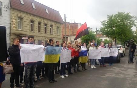 Пікет активістів завадив «судилищу над айдарівцями»