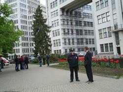 У Госпромі шукають вибухівку