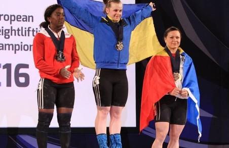Харківська важкоатлетка стала кращою спортсменкою України