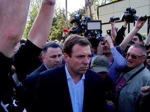 Лідер «Опозиційного блоку» Скорик з ганьбою втік з Куликова поля (фото, відео)