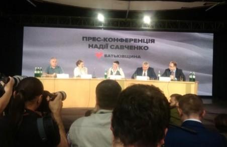 Савченко готова стати президентом, якщо цього потребують українці
