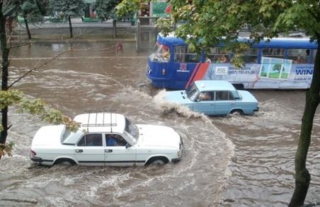 Харківські керманичі визнали зливу стихійним лихом