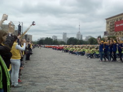На площі Свободи відбулася акція «Діти Харкова – за мир!»