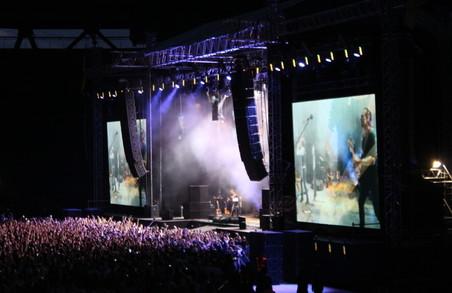 Океан людей під музику «Океану Ельзи». У Харкові відбувся концерт відомого рок-гурту