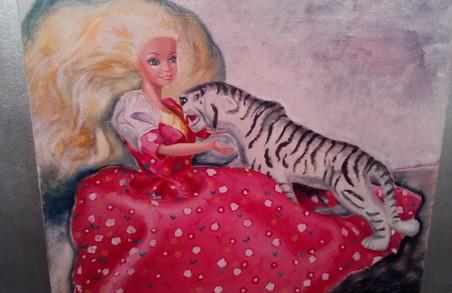 Люди як ляльки. У галереї VOVATANYA  відкрилася виставка художниці Віолетти Терлиги.