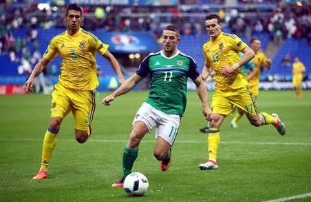 Україна програла Північній Ірландії та втратила шанс на плей-офф