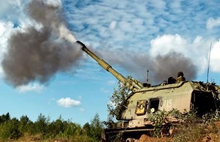У районі Троїцького українські позиції зазнали потужних обстрілів