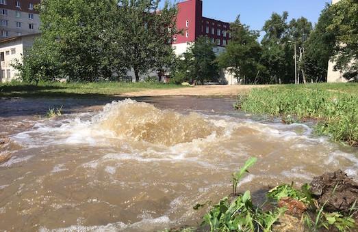 На Олексіївці сталася серйозна аварія водопроводу
