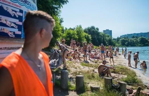 Кількість відпочиваючих на харківських пляжах збільшилася втричі