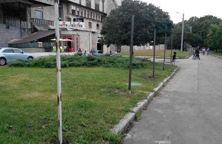 Сад Шевченка перекриють