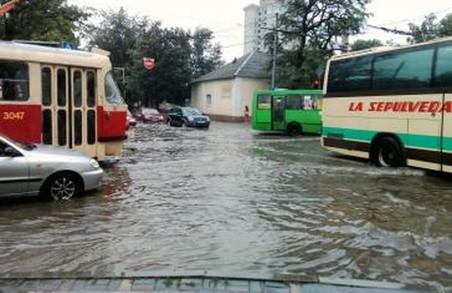 Харків знову затопило