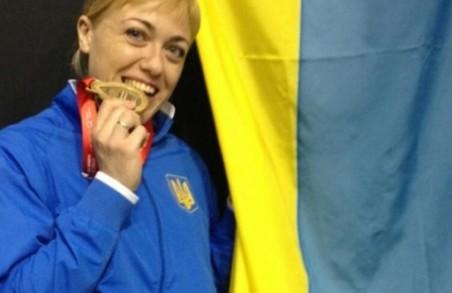 Євгенія Бреус на міжнародних змаганнях завоювала одразу дві медалі