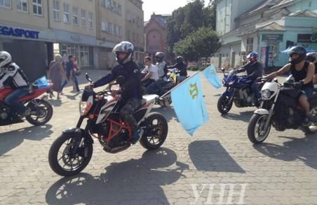 Байкери проїдуть тисячі кілометрів «за єдність України» (відео)