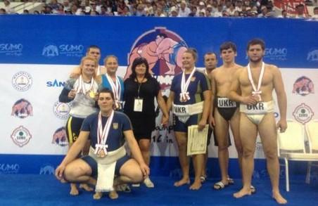 Харківські сумоїсти повернулися з медалями чемпіонату світу